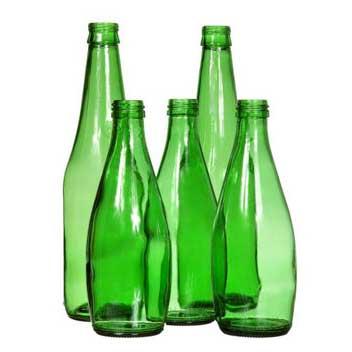Acque minerali in vetro
