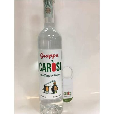 grappa chiara carosi 500ml