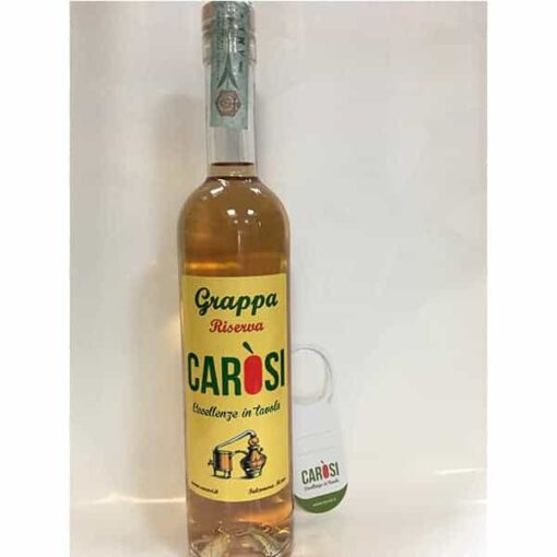 grappa riserva carosi 500ml