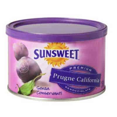 Prugne Denocciolate Sunsweet 250G Lattina