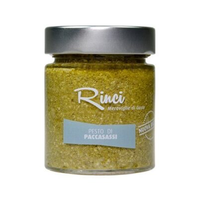 pesto di spaccasassi rinci