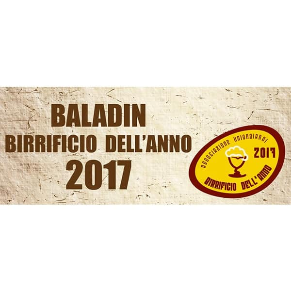 BALADIN BIRRIFICIO DELL'ANNO 2017